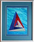 Artisan Made Framed Prints - Close Encounter Framed Print by Ron Davidson