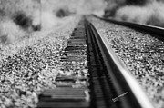 Karen Kersey - Close up of Rail road...
