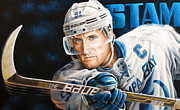 Sports Art World Wide John Prince - Close Up Of Stamkos...