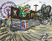 Arthur Robins - Closed Coney Island Ride