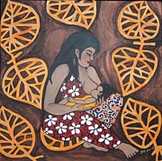 Breastfeeding Paintings - Closeness by Jennifer Mourin