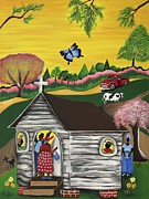 Gullah Art Posters - Closer to the Stars 2 Poster by Patricia Sabree