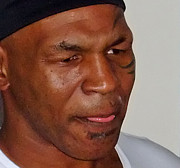 Jim Fitzpatrick - Closeup of Mike Tyson at...