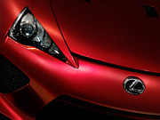 Oleksiy Maksymenko - Closeup of red Lexus LFA...