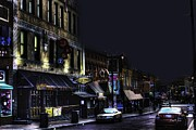 Closing Time Framed Prints - Closing Time on Beale Street Framed Print by Barry Jones
