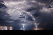 Lightning  Photographer Metal Prints - Clothed In Power Metal Print by Ryan Smith