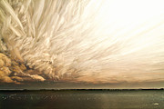 Bath Digital Art Prints - Cloud Chaos Print by Matt Molloy
