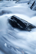 Abstract Water Fall Posters - Cloud Falls Poster by Edward Fielding