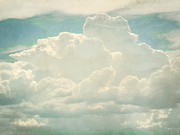 Clouds Digital Art Prints - Cloud Series 2 of 6 Print by Brett Pfister