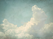 Interior Still Life Metal Prints - Cloud Series 4 of 6 Metal Print by Brett Pfister