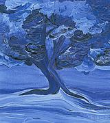 Jrr Paintings - Cloud Tree by jrr by First Star Art