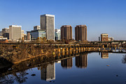 Richmond Virginia Prints - Cloudless Print by Tim Wilson