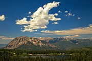 Gunnison Prints - Clouds Above Lost Lake Print by Adam Jewell
