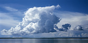 Calm Waters Posters - Clouds Poster by Anonymous