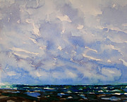 Julianne Felton - Clouds at the beach