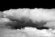 Den Decor Photo Prints - Clouds in Black and White Print by John Daly