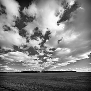 Clouds In The Heartland Print by Dick Wood