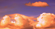Water Vapor Prints - Clouds in Trouble Print by Heather L Giltner
