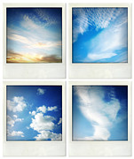 Cloud Photo Photos - Clouds by Les Cunliffe