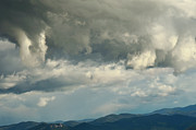 Cloud Formations. Sky Prints - Clouds over Mt. Helena Print by Kae Cheatham