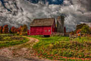Jeff Folger - Clouds over rustic...