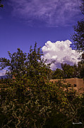 Santa Fe Framed Prints - Clouds Over Santa Fe II Framed Print by Madeline Ellis