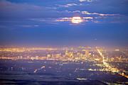 James BO  Insogna - Cloudy Hazy Denver Colorado September Super Moon