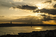 Redeemer Art - Cloudy Sunlight Over the Tagus by Deborah Smolinske