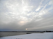 Kate Gallagher - Cloudy Sunset Over Snowy...