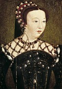 Catherine De Medicis Photos - Clouet, François 1505-1573. Portrait by Everett