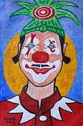 Spectator Painting Prints - Clown by Taikan Print by Taikan Nishimoto