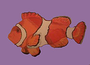 Clown Fish Mixed Media - Clown Fish 5 by Michael Moore