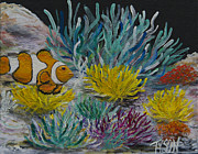 Clown Fish Originals - Clown fish by John Garland  Tyson