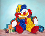 Ball Room Originals - Clown by Linda Becker