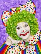 Clown Sue Marranconi Print by Patty Vicknair