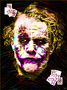 Gotham City Digital Art - Clown with Zero Empathy by Daniel Janda