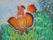 Clown Fish Originals - Clowning Around... by Teresa Grace Fourre