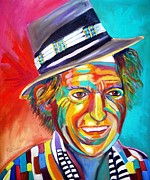 Keith Richards Painting Originals - Clowning by To-Tam Gerwe