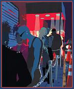 Club Kids Print by Clifford Faust