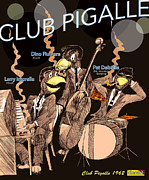 Wolverine Drawings - Club Pigalle  by Jazzboy