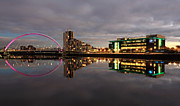 Scotland Images Prints - Clyde Reflections Print by Grant Glendinning
