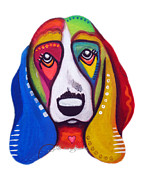 Jill English - Clyde the Basset Hound