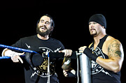 Wrestlemania Framed Prints - CM Punk and Luke Gallows Framed Print by Wrestling Photos