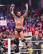 Wrestling Photos - CM Punk and Paul Heyman
