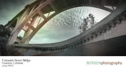Bergen Posters - CO Street Bridge Poster by Kevin Bergen