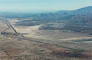 Palm Springs Airport Prints - Coachella Valley Print by John Daly