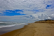 Storm Clouds Cape Cod Metal Prints - Coast Guard Beach Metal Print by Amazing Jules