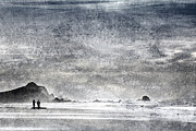 Oregon Coast Prints - Coast Walk Print by Carol Leigh