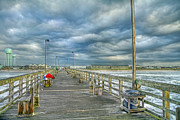 Topsail Island Photos - Coastal Blankets by East Coast Barrier Islands Betsy A Cutler