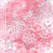 Megan Duncanson - Coastal Decorative Pink...